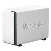 Synology DS213air. Вид справа.